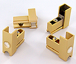 kit 4 x end-parts gilded SECURITRACK