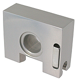 cavalier  SECURITRACK for showcase   Natural anodized  aluminium