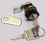 lock, same key number, black