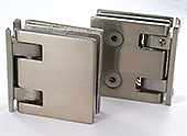 self-closing hinge reversi profil th.8 metal x2 brushed nickel