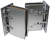 self-closing hinge saloon wall/gl stop 45kg mat chrome brass