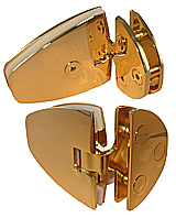 indexed hinge venus gl/gl.90 ép.6 x2 gilded brass
