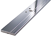 flat section profil capsi 38x5x2140 c to c dist. 1550  chromed